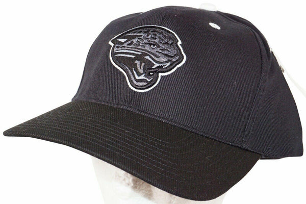 JACKSONVILLE JAGUARS - NFL BLACK TONE TONAL EMBOSS LOGO CAP HAT NEW-EZ Monster Deals