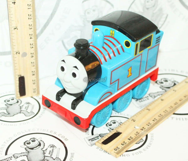 "THOMAS THE TANK ENGINE TALKING SOUNDING TRAIN 4.75"" VEHICLE MATTEL TOY 2009 USED - EZ Monster Deals"