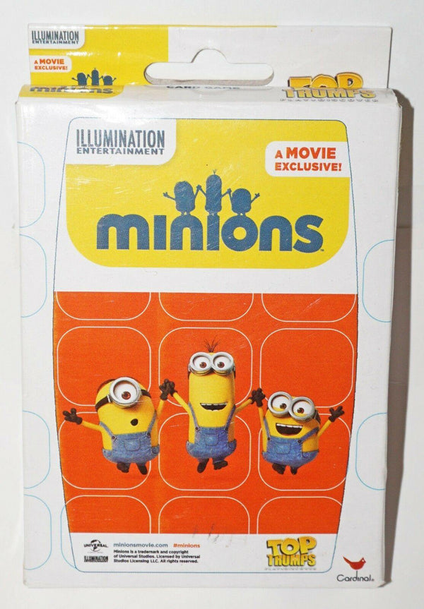 MINIONS DESPICABLE ME - PLAYING TOY CARD GAME BY TOP TRUMPS FUN FOR ALL AGES-EZ Monster Deals