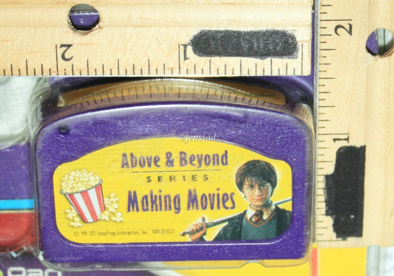 HARRY POTTER QUANTUM PAD THE INSIDE SCOOP MAKING MOVIES LEAPPAD BOOK & CARTRIDGE-EZ Monster Deals