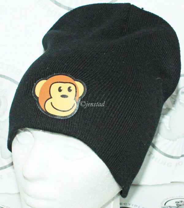 TIMMY FACE MONKEY BEANIE CAP - THINKGEEK THINK GEEK BLACK EXCLUSIVE GAMESTOP NEW - EZ Monster Deals