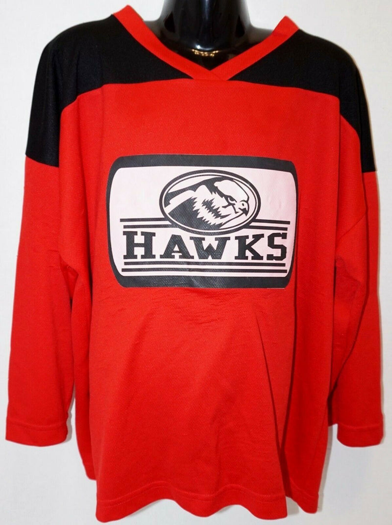 YOUTH L/XL - XTREME BASICS RD/BLK ICE ROLLER HOCKEY HAWKS