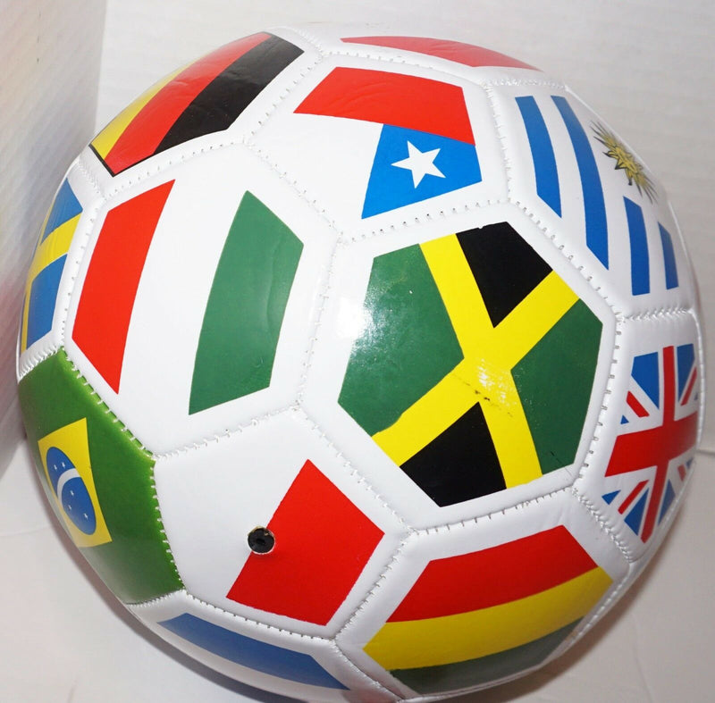 "WORLD INTERNATIONAL COUNTRY FLAG 26"" INDOOR OUTDOOR SOCCER BALL SIZE 4 NEW - EZ Monster Deals"