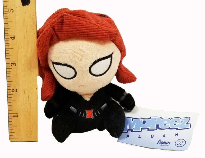 "FUNKO BLACK WIDOW BEANBAG 4.5"" PLUSH TOY - MARVEL COMICS MOPEEZ FIGURE 2016"