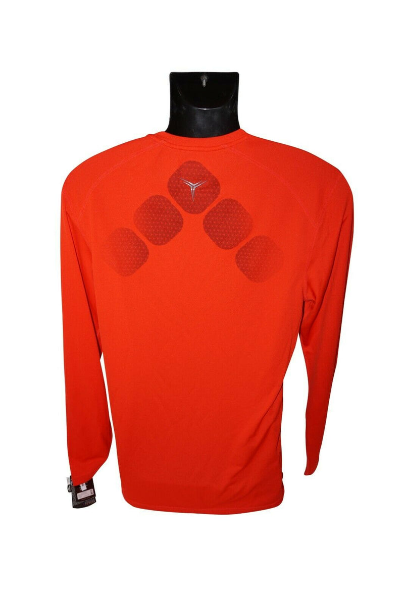 BAUER HOCKEY TRAINING 37.5 PREMIUM LONG SLEEVE TEE - RED SHIRT XXL ADULT XXLARGE - EZ Monster Deals