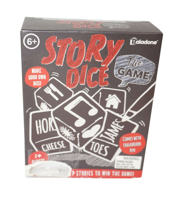 PALADONE STORY DICE FAMILY AND PARTY STORYTELLING TOY GAME - MISSING PEN