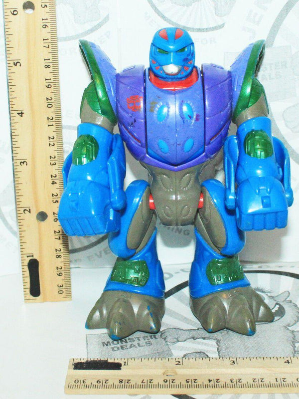 "TRANSFORMERS GO-BOTS BEAST-BOT II PLAYSKOOL PANTHER 6"" TOY ACTION FIGURE 2001"