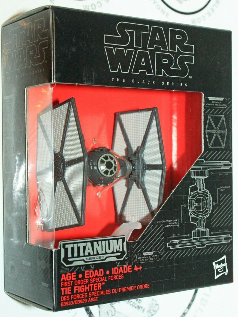 TIE FIGHTER SPECIAL FORCES - STAR WARS AWAKENS TITANIUM TOY VEHICLE 2015 NEW