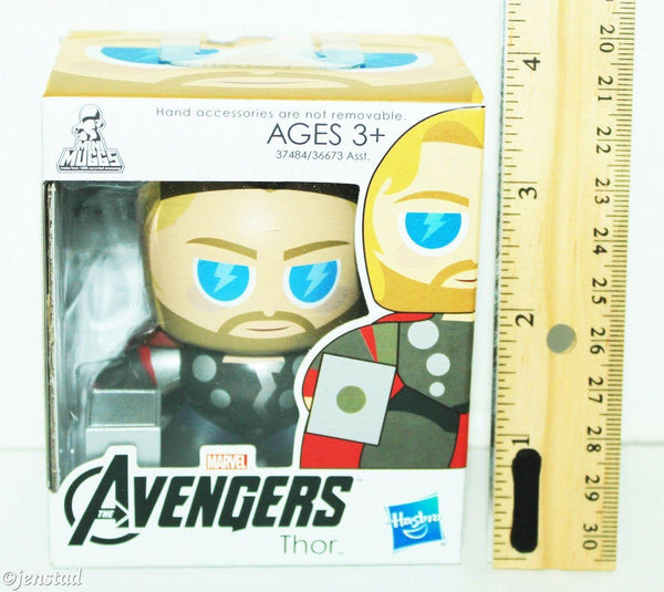 "THOR 2.75"" MINI MUGS TOY FIGURE MARVEL UNIVERSE THE AVENGERS HASBRO 2011 NEW-EZ Monster Deals"