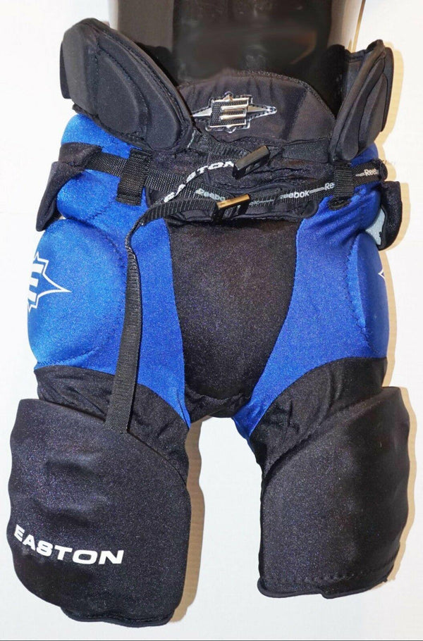 "EASTON JUNIOR LARGE INLINE ROLLER HOCKEY GIRDLE & CUP 28""-30"" PANTS HIP PAD USED"