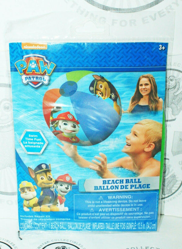 PAW PATROL BEACH BALL - FROM NICKELODEON TV SERIES FOR POOL WATER ETC NEW