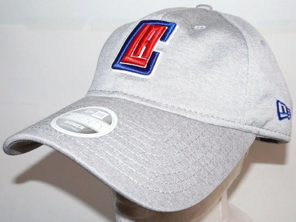 LOS ANGELES LA CLIPPERS GREY SLOUCH HAT BASKETBALL OEM NEW ERA WOMENS ONE SIZE - EZ Monster Deals