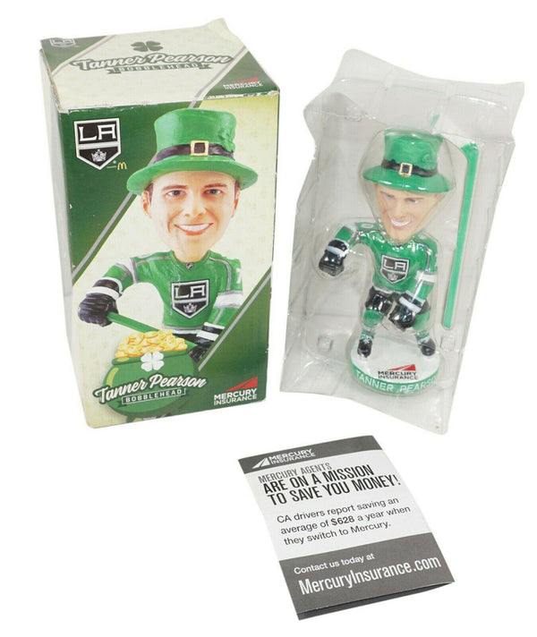 TANNER PEARSON #70 BOBBLE-HEAD FIGURE - LOS ANGELES LA KINGS NHL HOCKEY USED - EZ Monster Deals