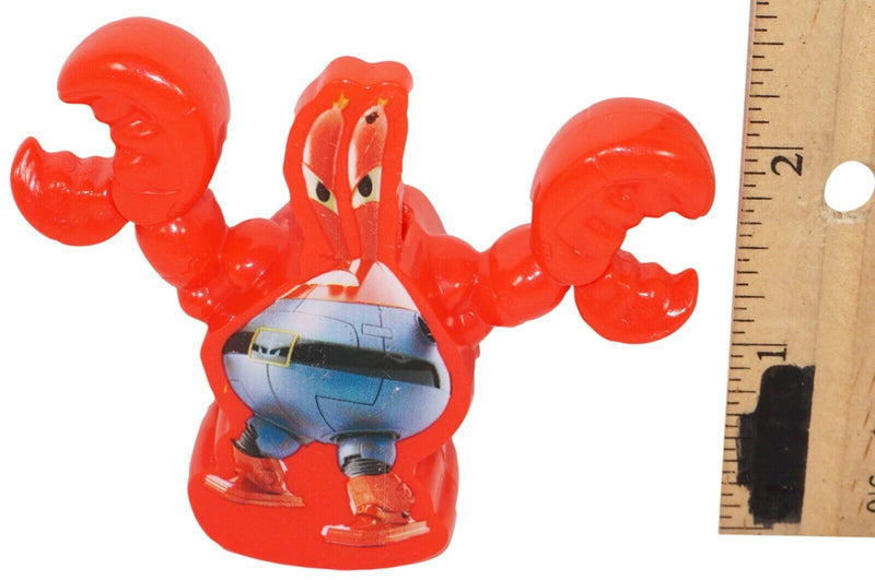 "MR KRABS FROM SPONGEBOB SQUAREPANTS 2.5"" MCDONALDS STRAW TOPPER TOY FIGURE 2015 - EZ Monster Deals"