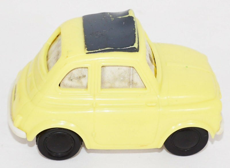 LUIGI FIAT 500 PULL BACK MCDONALDS - HAPPY MEAL TOY