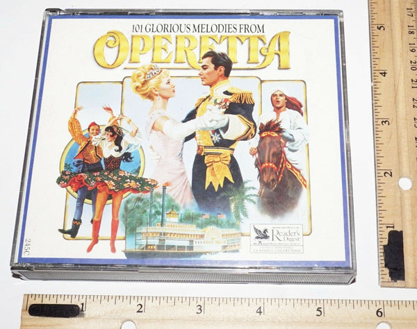 OPERETTA BY READER'S DIGEST 101 GLORIOUS MELODIES TWO DISCS 4 & 5 MUSIC CD 1989