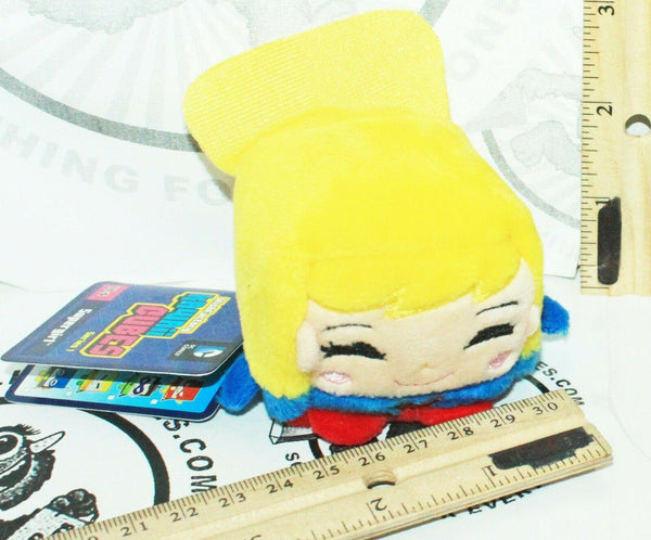 "SUPERGIRL DC COMICS KAWAII CUBE SERIES 1 - MINI 2"" PLUSH TOY STUFFED FIGURE 2016 - EZ Monster Deals"