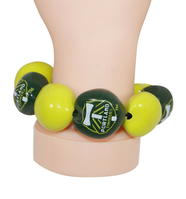 PORTLAND TIMBERS FC MLS MULTIPLE KUKUI NUT BRACELET SOCCER FUTBOL NEW 2011 - EZ Monster Deals