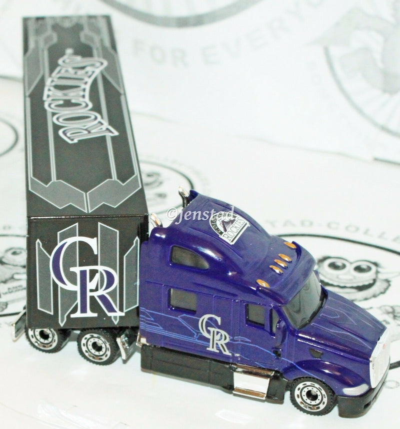 24 PCS - ONE CASE COLORADO ROCKIES MLB BASEBALL 1:80 DIECAST TRUCK TOY 2012 NEW