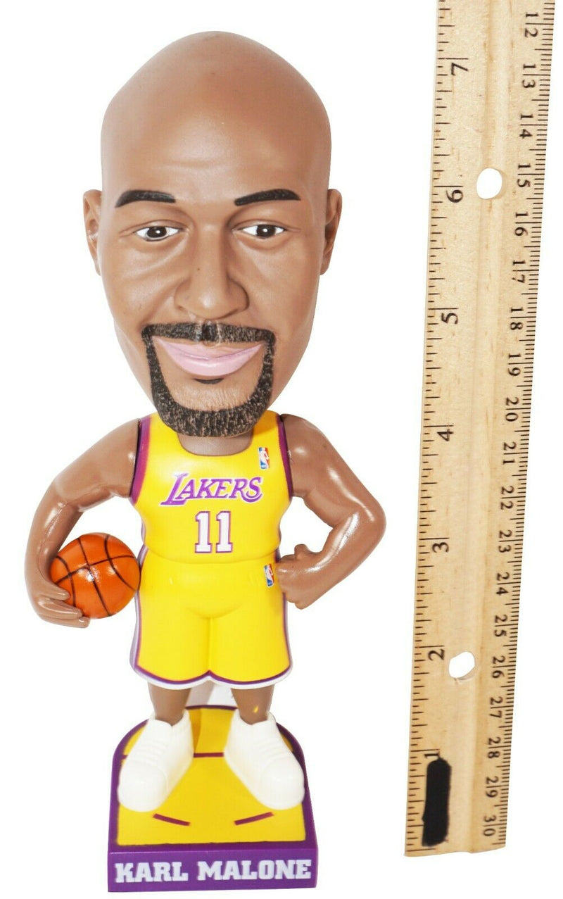 KARL MALONE BOBBLE-HEAD FIGURE - NBA LOS ANGELES LA LAKERS BASKETBALL 2004-EZ Monster Deals