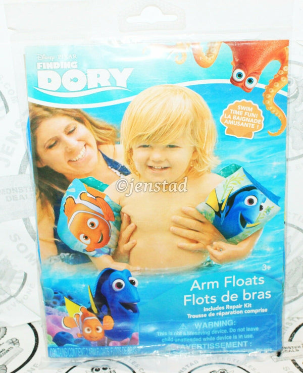 FINDING DORY W/ NEMO ARM FLOATS - DISNEY PIXAR FOR POOL BEACH SWIMMING NEW - EZ Monster Deals
