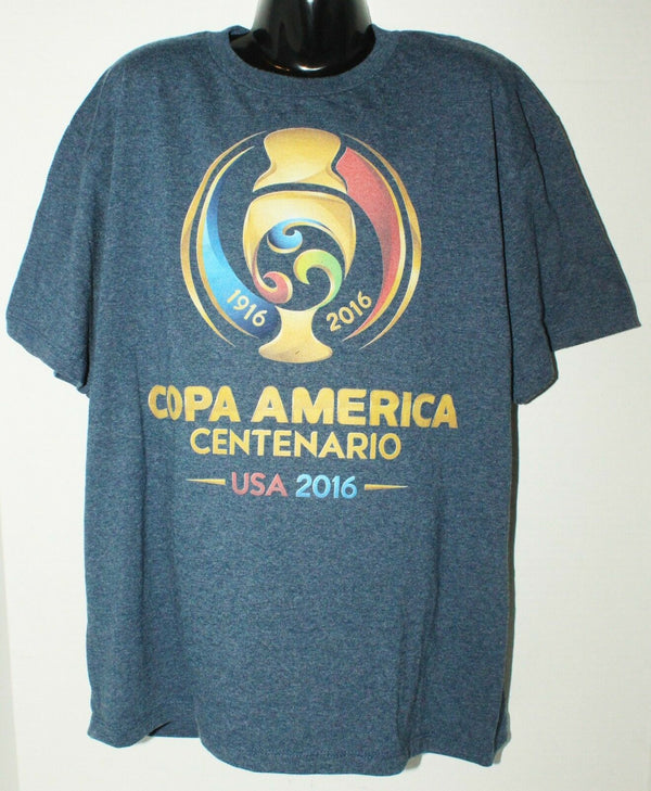 SOCCER COPA AMERICA & DISNEY LION KING THEME KIDS LARGE BLUE SHIRT OR WOMEN 2016-EZ Monster Deals