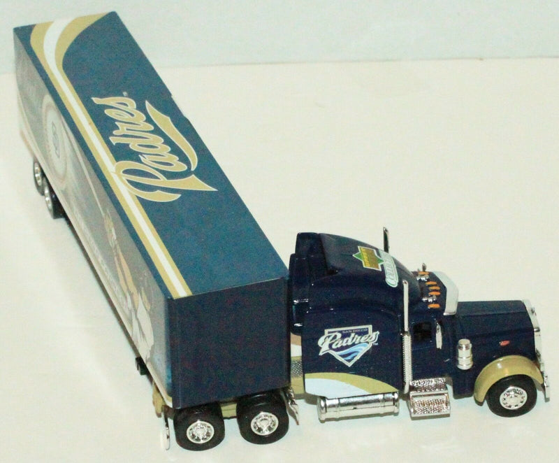 SAN DIEGO PADRES UPPER DECK 1:80 DIECAST MLB BASEBALL TRUCK TRACTOR TRAILER 2007