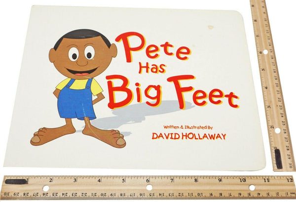 PETE HAS BIG FEET - LEARNING FOR KIDS 4-8 USED HARDCOVER BOARD BOOK 2006 - EZ Monster Deals