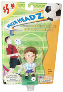 "HERNÁN CRESPO TEAM ARGENTINA SOCCER HEAD - FÚTBOL 4"" BOBBLE TOY FIGURE 2002 NEW - EZ Monster Deals"