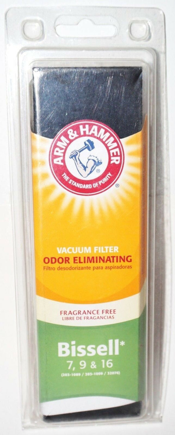 BISSELL 7 9 16 - ARM & HAMMER VACUUM FILTER ALLERGEN 203-1089 203-1009 32076 NEW-EZ Monster Deals