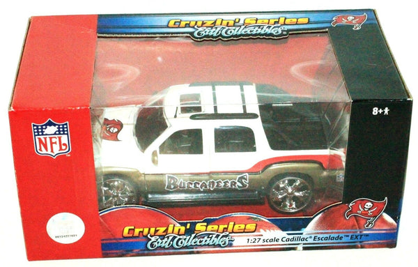 TAMPA BAY BUCCANEERS CADILLAC ESCALADE 1:27 DIECAST NFL BASEBALL TOY TRUCK 2006 - EZ Monster Deals