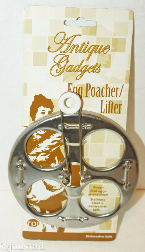 EGG POACHER & LIFTER THE ANTIQUE GADGET KITCHENWARE KITCHEN UTENSIL TOOL 2012 - EZ Monster Deals