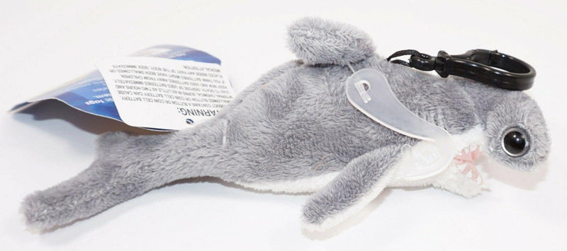 "DISCOVERY SHARK WEEK HAMMERHEAD SHARK 6.5"" PLUSH TOY FIGURE CLIP-ON 2018 + SOUND - EZ Monster Deals"