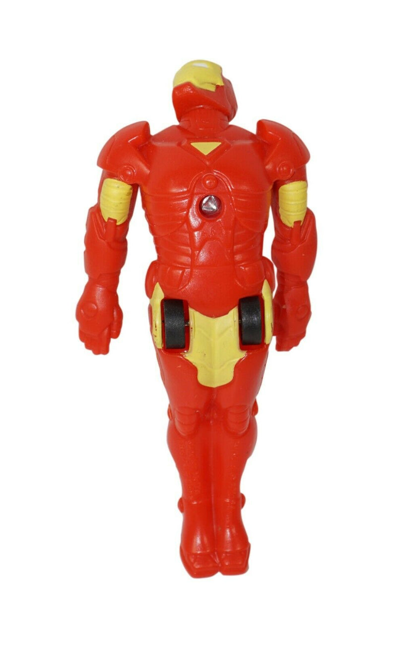 "IRON MAN MARVEL HEROES 4.25"" FIGURE - MCDONALDS MEAL TOY"