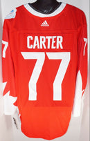 JEFF CARTER 77 ADIDAS PREMIER JERSEY XL - WORLD CUP HOCKEY AUTHENTIC XLARGE 2016