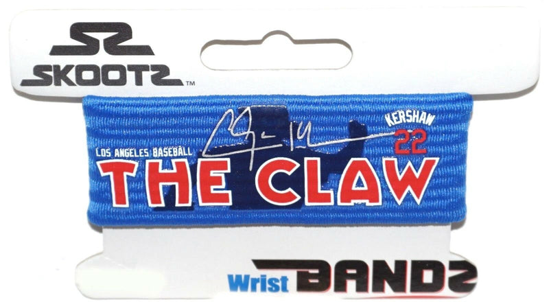 SMALL SKOOTZ BANDZ BRACELET - LOS ANGELES LA DODGERS CLAYTON KERSHAW THE CLAW-EZ Monster Deals