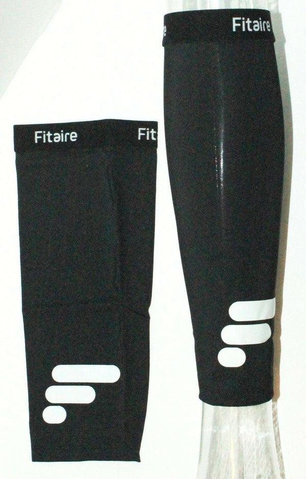 FITAIRE PREMIUM COPPER CALF COMPRESSION & SUPPORT BLACK SLEEVE ADULT LARGE NEW - EZ Monster Deals