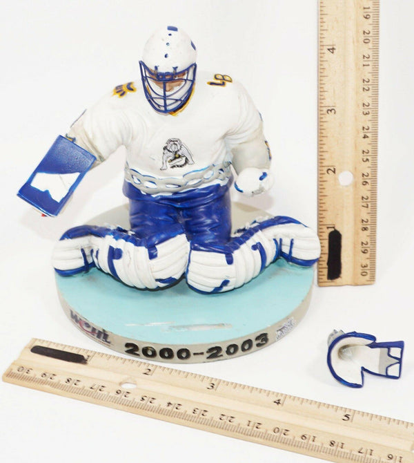 MIKE BUZAK - LONG BEACH ICE DOGS IHL MINOR LEAGUE HOCKEY 2000-2003 STATUE #3