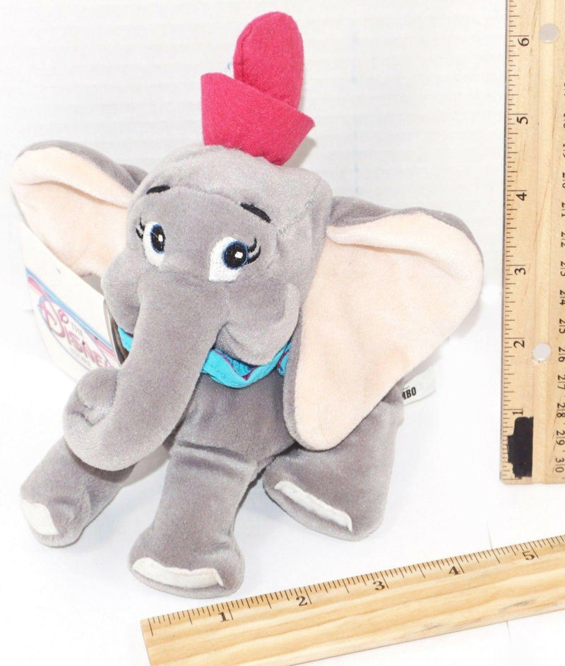 "DUMBO ELEPHANT 8"" PLUSH BEANBAG TOY - EXCLUSIVE FOR DISNEY STORES USED - EZ Monster Deals"
