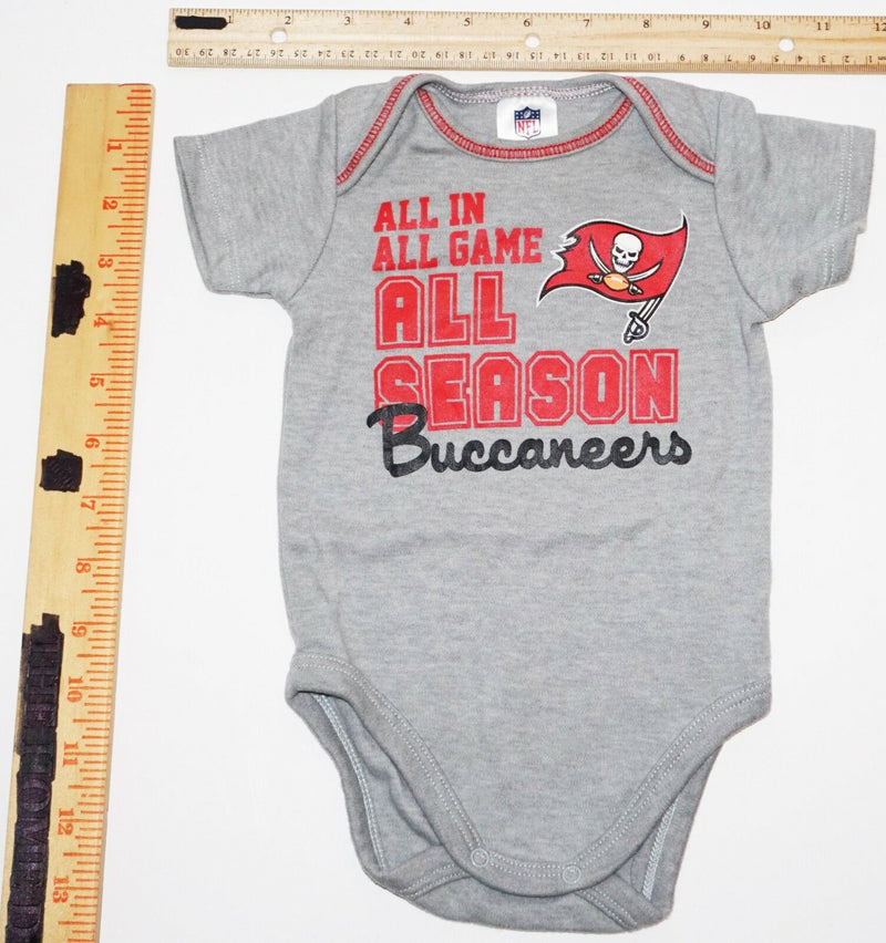 TAMPA BAY BUCCANEERS - NFL LOGO 1-PIECE BABY SUIT FOOTBALL 0-3 MTH SHORT SLEEVE-EZ Monster Deals