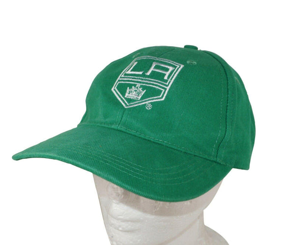 LOS ANGELES LA KINGS PROMO GREEN HAT FROM ST PATRICK'S DAY NHL HOCKEY OEM USED - EZ Monster Deals