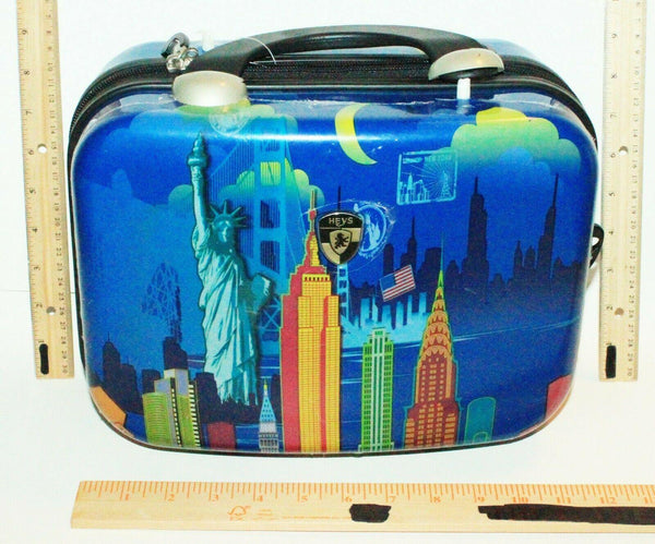 HEYS LUXURY LUGGAGE - FAZZINO NEW YORK THEME BEAUTY COSMETIC MAKEUP TRAVEL CASE - EZ Monster Deals
