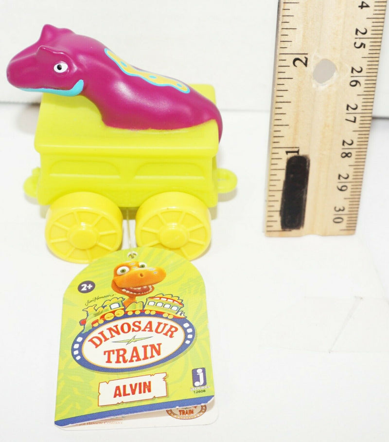 ALVIN JIM HENSON DINOSAUR TRAIN  - MINI ALL ABOARD TOY FIGURE IN VEHICLE 2016 - EZ Monster Deals