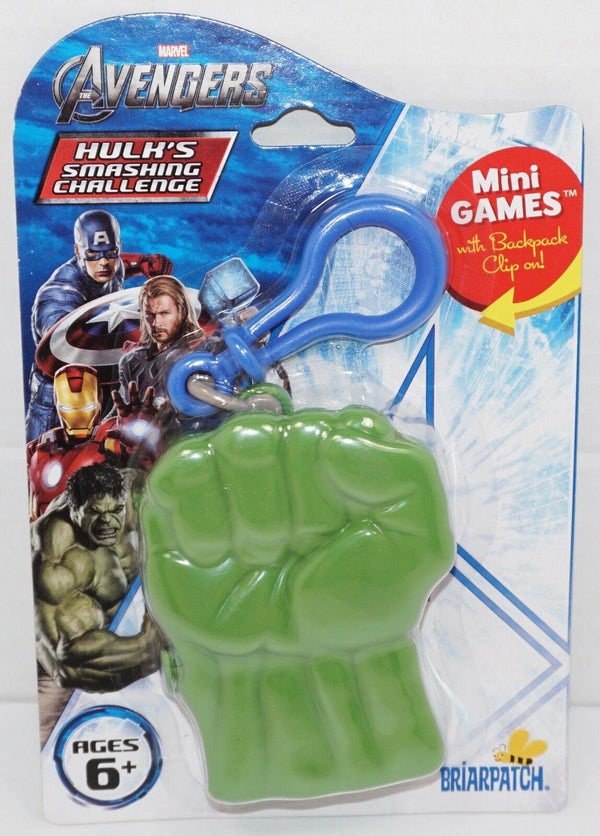 HULK'S SMASHING CHALLENGE - THE AVENGERS MARVEL COMICS TOY PLAYING CARD GAME