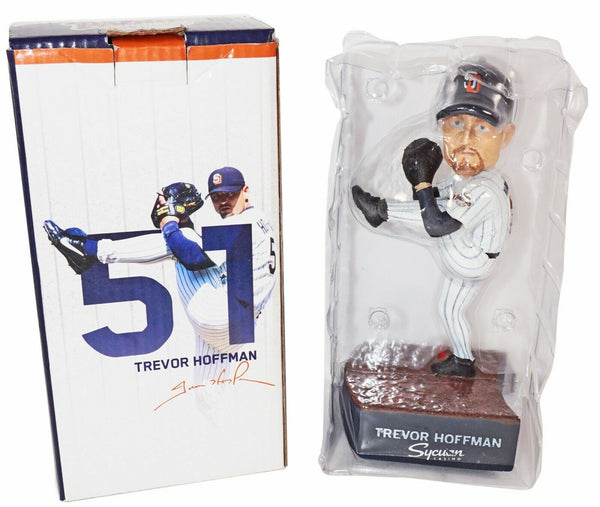 TREVOR HOFFMAN SAN DIEGO PADRES MLB - COMMEMORATIVE '98 + SONG BOBBLEHEAD 2018 - EZ Monster Deals