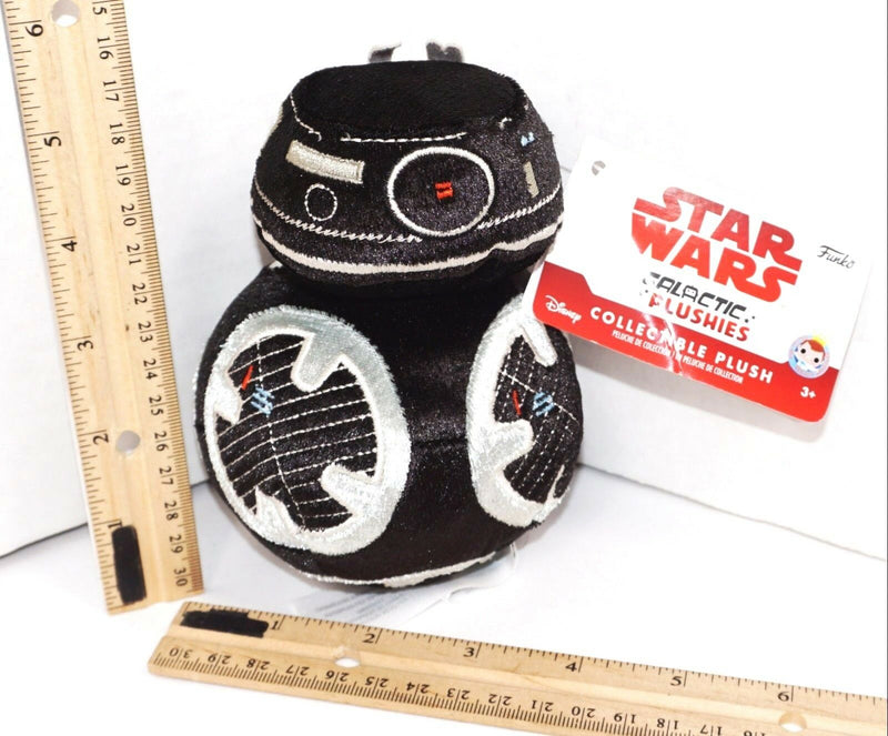 "FIRST ORDER BB UNIT - DISNEY STAR WARS THE LAST JEDI 5"" GALACTIC PLUSH TOY FUNKO"