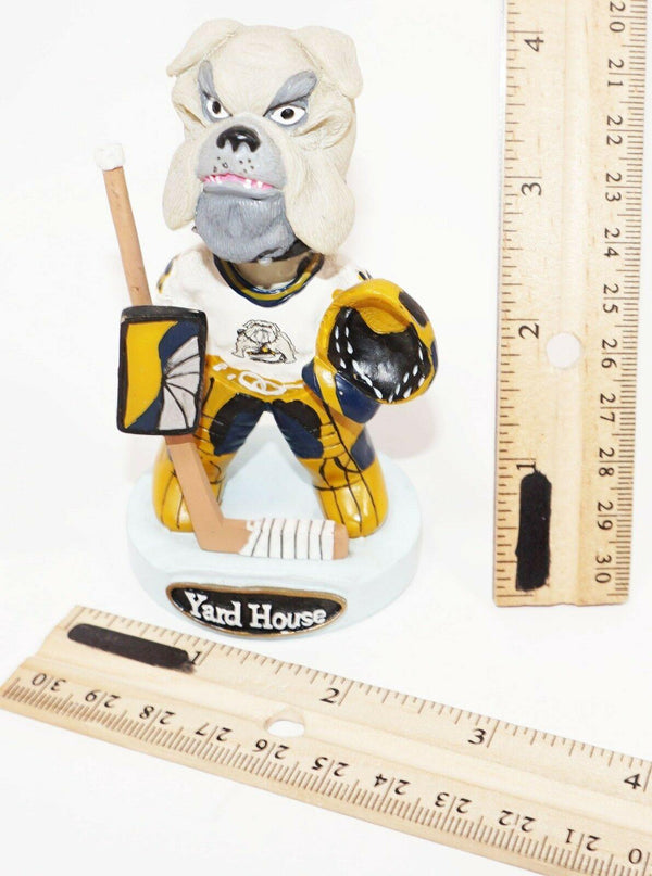 "GOALIE SPIKE MASCOT - 4"" MINI BOBBLEHEAD LONG BEACH ICE DOGS MINOR LEAGUE HOCKEY - EZ Monster Deals"
