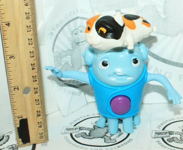 OH SPINNING CAT MCDONALD #3 - HOME DREAMWORKS HAPPY MEAL FIGURE 2015 + BONUS TOY - EZ Monster Deals