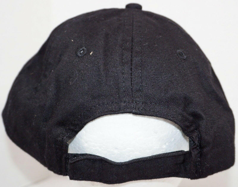 LOGAN'S ROADHOUSE RESTAURANT EMPLOYEE HAT - BLACK BASEBALL SLOUCH CAP NEW - EZ Monster Deals