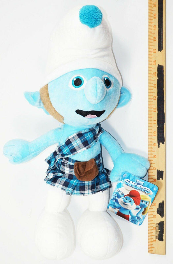 "GUTSY 20"" PLUSH TOY FIGURE KELLY-TOY SMURFS 2 MOVIE STUFFED ANIMAL FIGURE 2013-EZ Monster Deals"